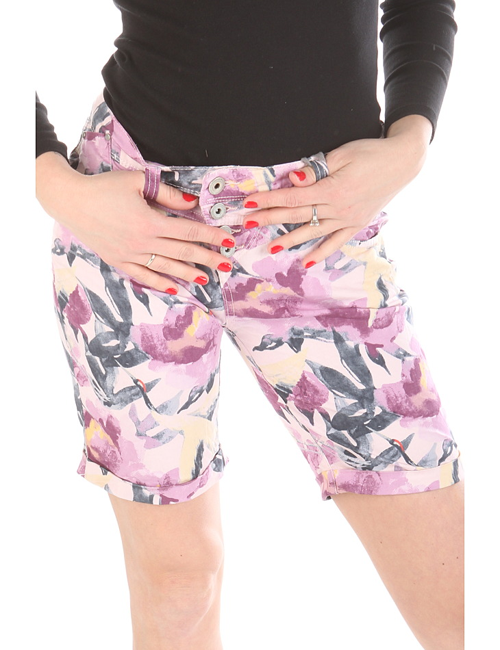 Femeile Floral Shorts Rock Angel